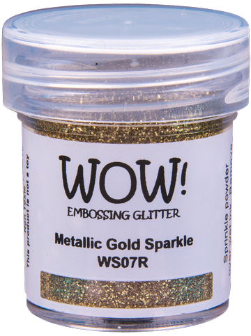 WS07 Metallic Gold Sparkle